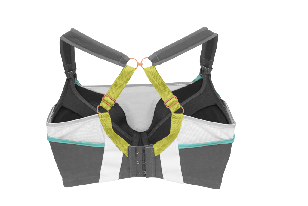 Lemon Zest Pro Impact Flexi-Wire Nursing Sports Bra 9